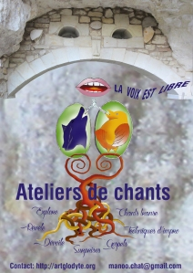 affiche manoucha chant
